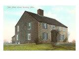 John Alden House, Duxbury, Mass., Art Print