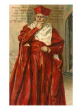 Wolsey from Henry VIII Art Print