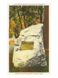 Grave of Ralph Waldo Emerson, Concord, Massachusetts, Art Print