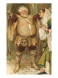 Falstaff from Merry Wives of Windsor Art Print