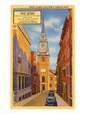 Old North Church, Boston, Mass., Art Print