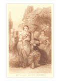 Scene from Much Ado About Nothing Art Print