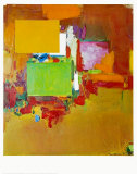 Song of the Nightingale, Art Print, Hans Hofmann