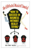 How To Succeed in Businesss Without Really Trying, Masterprint, 1961, Broadway Show