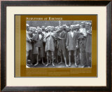 History Through a Lens - Survivors at Ebensee Art Print