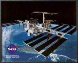 NASA International Space Station Fine Art Print