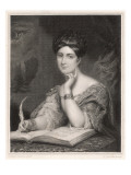 Caroline Norton (nee Sheridan), English Writer, Photographic Print