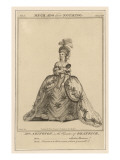 Frances Abington as Beatrice in Shakespeare's 'Much Ado About Nothing', Giclee Print