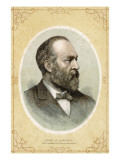 James A. Garfield, Giclee Print