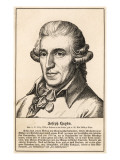 Joseph Haydn Austrian Musician and Composer, Giclee Print