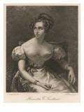 Harriet Smithson, Irish Actress, Giclee Print