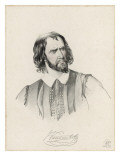 The Actor George Vandenhoff (1820-1884) in the Role of Shylock, Giclee Print