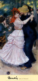 Dance at Bougival, Pierre-Auguste Renoir Art Print