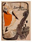 Jane Avril, Jardin de Paris, 1893, Henri de Toulouse-Lautrec, Giclee Print