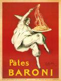 Leonetto Cappiello - Pates Baroni 1921, Giclee Print