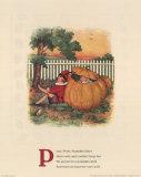 Peter, Peter, Pumpkin Eater Art Print