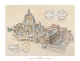 Rome, St. Peter's Basilica, Art Print