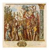 Triumphs of Caesar, Giclee Print