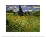Bles Verts, Vincent van Gogh, Art Print