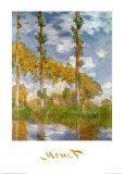 Poplars at Giverny, Claude Monet, Art Print