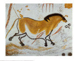 Horse from Lascaux Caves, Giclee Print