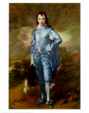 The Blue Boy, Art Print, Thomas Gainsborough
