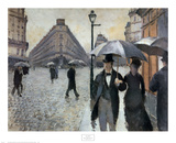 Paris Street Rainy Day, Giclee Print