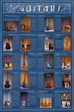 Classic Guitars Wall Poster