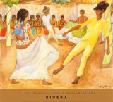 Baile en Tehuantepec, Diego Rivera Art Print