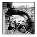 Rock 'n Roll sur les Quais de Paris Art Print