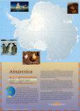 Antarctica Continent Poster