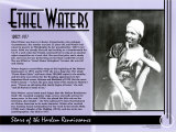 Stars of the Harlem Renaissance - Ethel Waters Poster