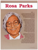 Great American Women - Rosa Parks Poster