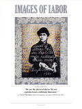 Lucy Parsons Images of Labor -Wall Poster