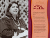 Contemporary Native Americans - Wilma Mankiller Wall Poster