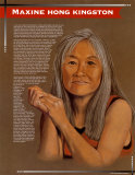 Great Asian Americans - Maxine Hong Kingston Art Print