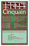Poetry Forms - Cinquain Poster