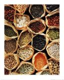 Beans, Peas and Lentils, Art Print