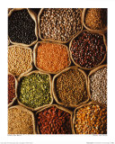 Pulses and Grains Art Print
