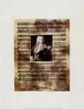Principals of Music, Handel, Art Print