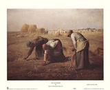 The Gleaners, 1857, Art Print