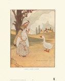 Goosey, Goosey Gander Art Print