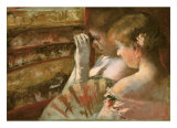 In the Box - Mary Cassatt Fine Art Print