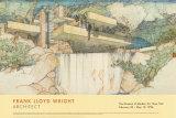 Frank Lloyd Wright, Falling Water, Giclee Print