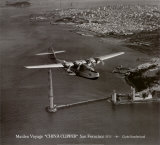 Maiden Voyage, China Clipper, San Francisco, California 1935