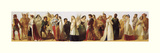 Procession of Shakespeare Characters, Art Print