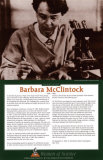 Women of Science - Barbara McClintock Poster