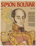 Hispanic Heritage - Simon Bolivar Poster