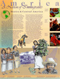 America: A Nation of Immigrants - Mexico and Central America Wall Poster