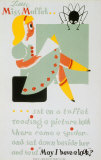 Historic Reading Poster- Little Miss Muffet